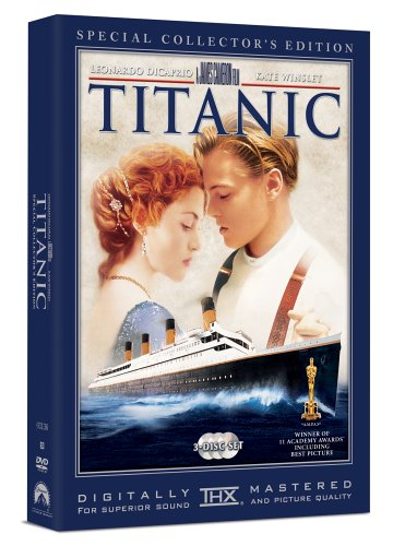 TITANIC: SPECIAL COLLECTOR'S EDITION (1997) (3PC) - TITANIC: SPECIAL COLLECTOR'S EDITION (1997) (3PC) DVD Image