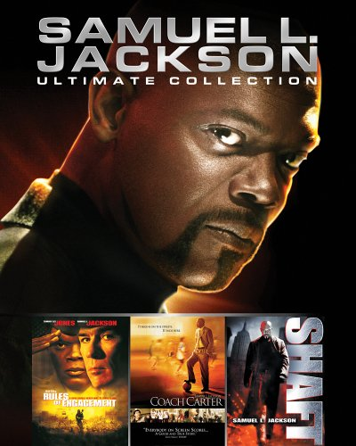 Samuel L. Jackson Ultimate Collection (Old Version): Rules Of Engagement (Special Edition) / Coach Carter / Shaft DVD Image