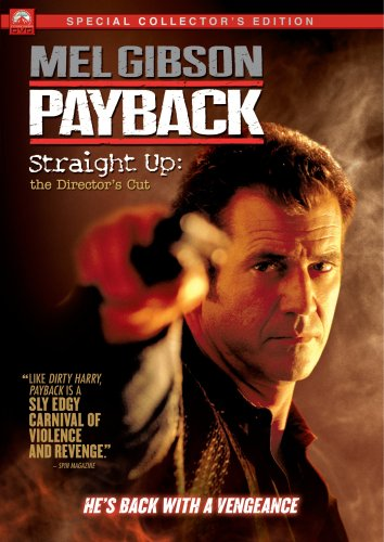 Payback (1999/ Unrated Version/ Straight Up: Director's Cut) DVD Image