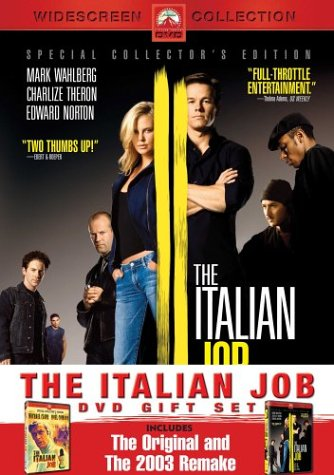 Italian Job (1969/ Special Collector's Edition) / Italian Job (2003/ Widescreen) DVD Image