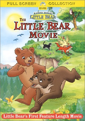 The Little Bear Movie DVD Image