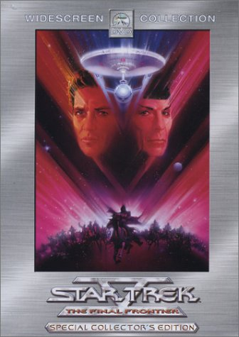 Star Trek (5) V: The Final Frontier (Collector's Edition) DVD Image
