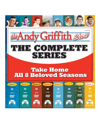 Andy Griffith Show (Paramount): The Complete 1st - 8th Seaons: The Complete Series DVD Image