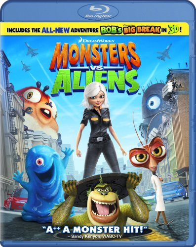 Monsters vs. Aliens [Blu-ray] DVD Image