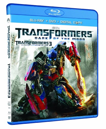 Transformers: Dark of the Moon (Blu-ray / DVD / Digital Combo Pack) [Blu-ray] DVD Image