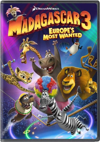 Madagascar 3: Europe's Most Wanted DVD Image