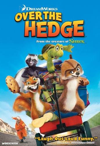 Over The Hedge (Widescreen) DVD Image
