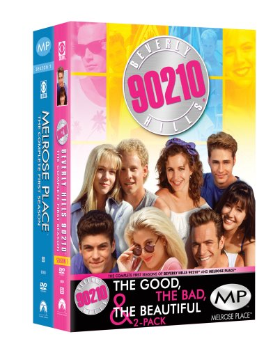 Good, The Bad & The Beautiful Pack: Beverly Hills 90210: 1st Season / Melroswe Place: 1st Season DVD Image