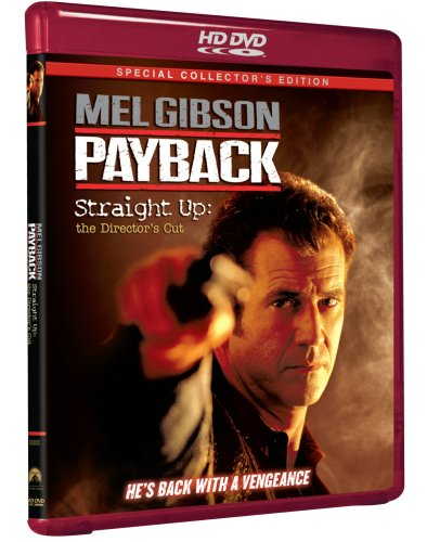 Payback (1999/ Unrated Version/ Straight Up: Director's Cut/ HD-DVD) DVD Image