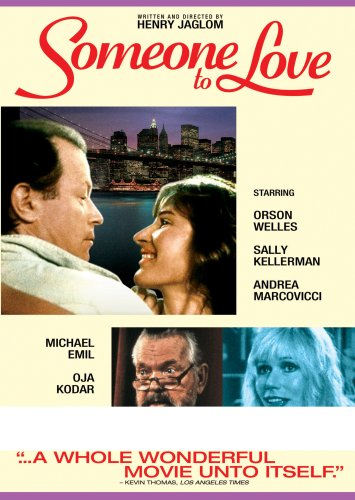 Someone To Love DVD Image