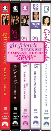 Girlfriends (2000): The 1st - 5th Seasons DVD Image