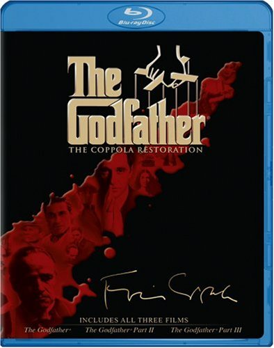 Godfather: The Coppola Restoration (4-Disc/ Blu-ray): The Godfather / The Godfather, Part II / The Godfather, Part III DVD Image