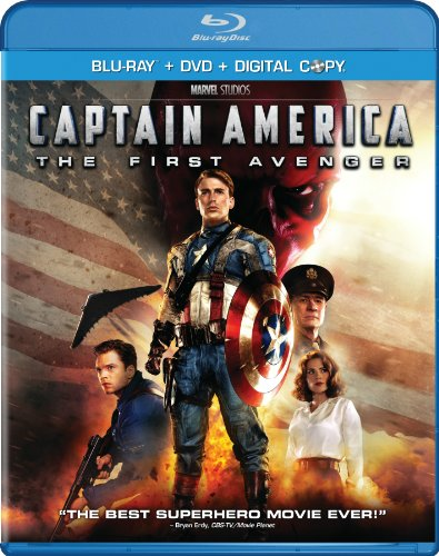 Captain America: The First Avenger [Blu-ray] DVD Image