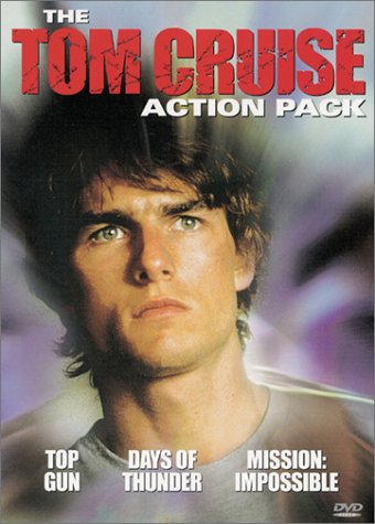 Tom Cruise Action Pack Gift Set: Days Of Thunder / Mission: Impossible / Top Gun (Sensormatic) DVD Image