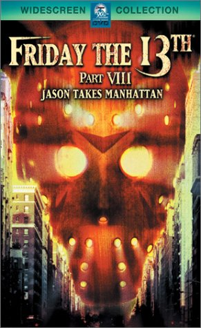 Friday The 13th, Part 8: Jason Takes Manhattan DVD Image