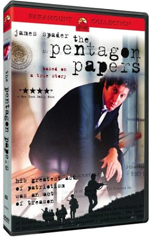 The Pentagon Papers DVD Image