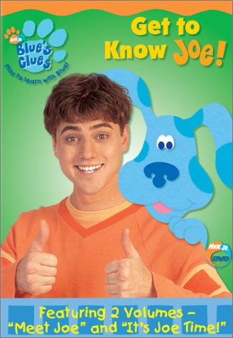Blue's Clues: Getting To Know Joe DVD Image