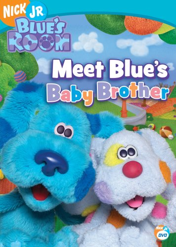 Blue's Clues: Blue's Room: Meet Blue's Baby Brother DVD Image
