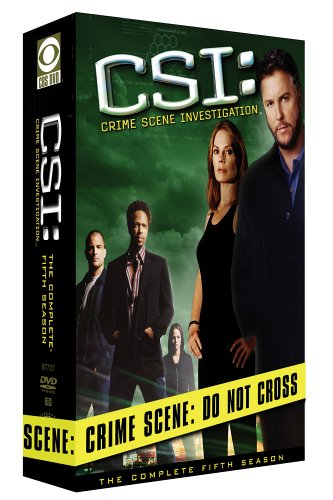 CSI: Crime Scene Investigation: The Complete 5th Season DVD Image