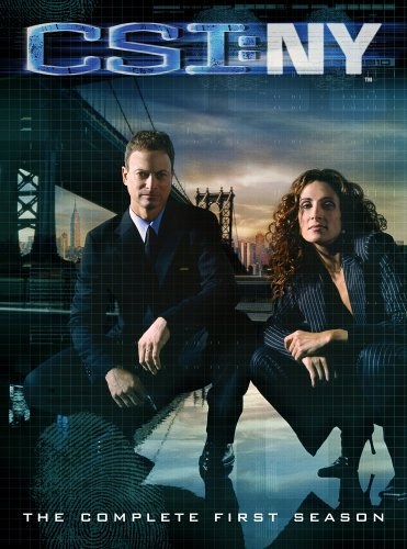 C.S.I. New York - The Complete First Season DVD Image