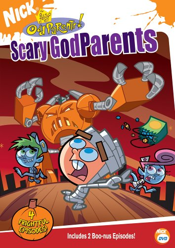 The Fairly Odd Parents - Scary Godparents DVD Image