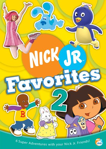 Nick Jr. Favorites, Vol. 2: Dora The Explorer: Super Map / LazyTown: Sleepless In LazyTown / The Backyardigans: ... / ... DVD Image
