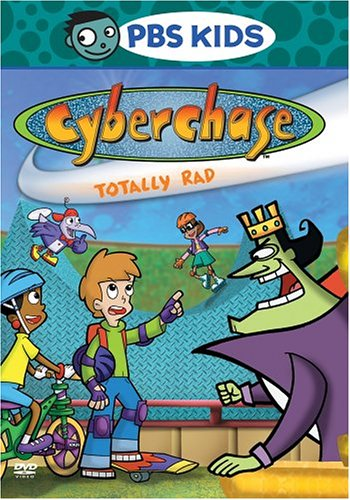 Cyberchase: Totally Rad / The Borg Of The Ring (Old Version/ 2004 Release) DVD Image