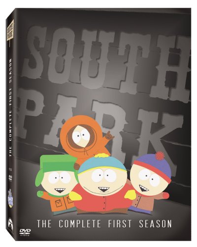South Park: The Complete 1st Season (Paramount) DVD Image