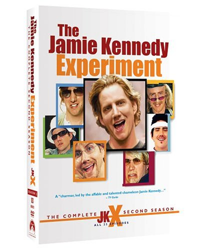 The Jamie Kennedy Experiment - The Complete Second Season DVD Image