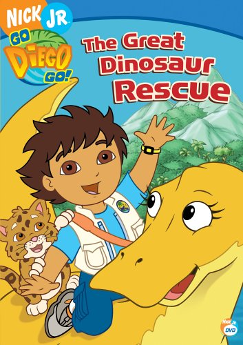 Go Diego Go! - The Great Dinosaur Rescue DVD Image