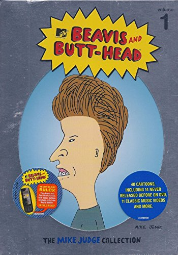 BEAVIS & BUTTHEAD 1: MIKE JUDGE COLLECTION (3PC) - BEAVIS & BUTTHEAD 1: MIKE JUDGE COLLECTION (3PC) DVD Image