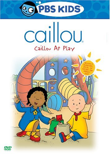 Caillou: Caillou At Play (Old Version/ 2004 Release) DVD Image