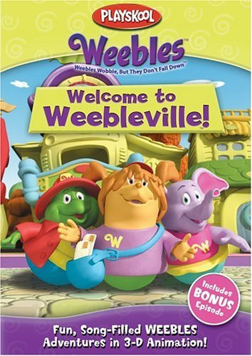 Weebles: Welcome to Weebleville! DVD Image