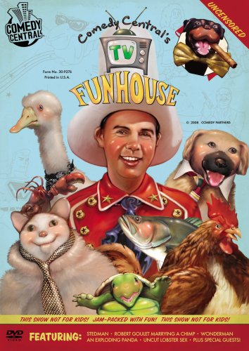 Comedy Central's TV Funhouse DVD Image