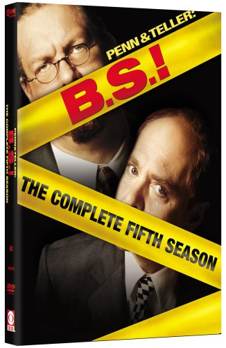 PENN & TELLER: B.S.!:COMPLETE 5TH SEASON (DVD MOVIE) DVD Image