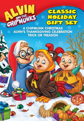 Alvin & The Chipmunks: Holiday Gift Set DVD Image