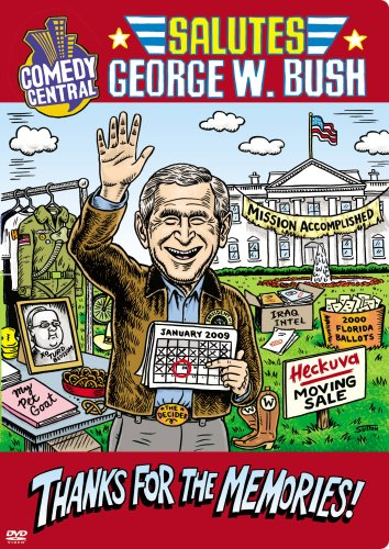 Comedy Central Salutes George W. Bush DVD Image
