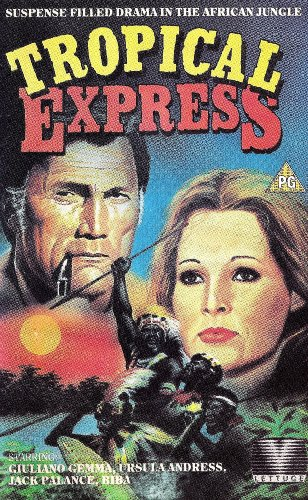 Tropical Express (1975) Ursula Andress, Giuliano Gemma, Jack Palance DVD Image