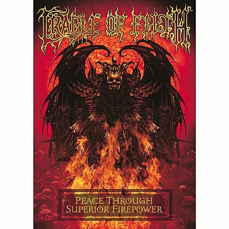 Cradle Of Filth - Peace Through Superior Firepower DVD Image