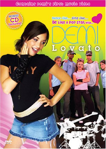 Be Like A Pop Star With Demi Lovato (DVD/CD Combo) DVD Image