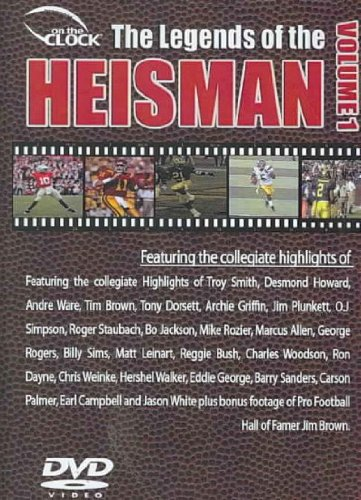 On The Clock Presents: USA: Heisman Trophy Winners DVD Image
