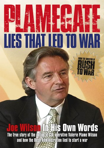 Plamegate - Lies that Led to War DVD Image