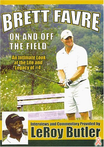 Brett Favre: On and Off the Field DVD Image