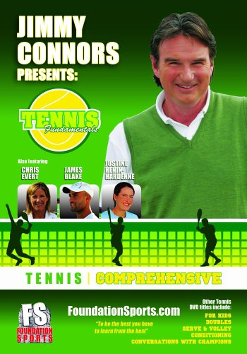 JIMMY CONNORS PRESENTS TENNIS FUNDAMENTALS: Comprehensive DVD Image