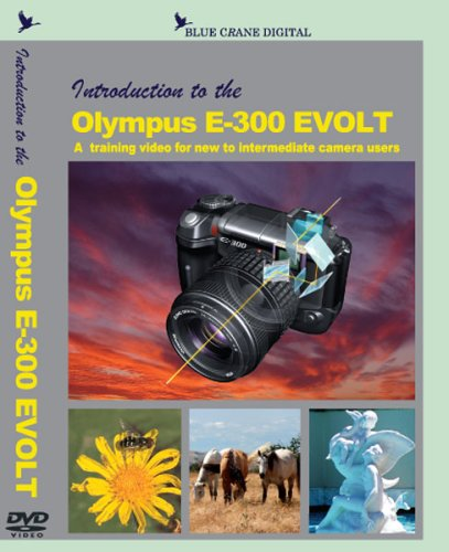 Introduction To The Olympus E-300 EVOLT DVD Image