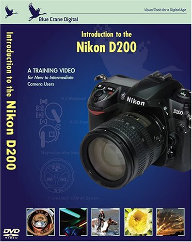 Introduction to the Nikon D200 DVD Image