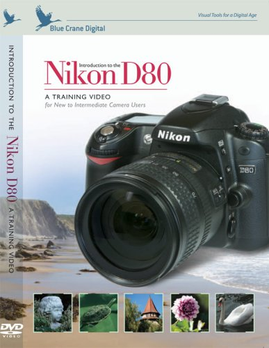 Introduction to the Nikon D80 Digital SLR DVD Image