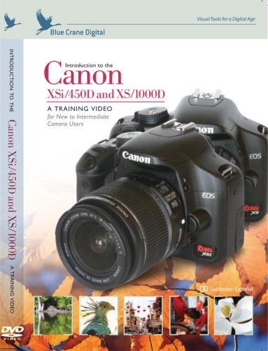 Introduction To The Canon Rebel XSi 450D / XS 1000D DVD Image