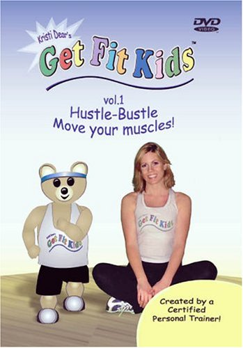 Get Fit Kids Vol. 1 - Hustle-Bustle  Move Your Muscles! DVD Image