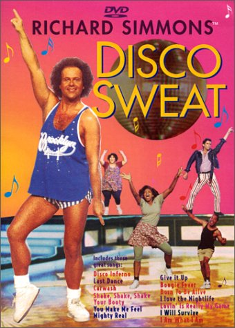 Richard Simmons - Disco Sweat DVD Image